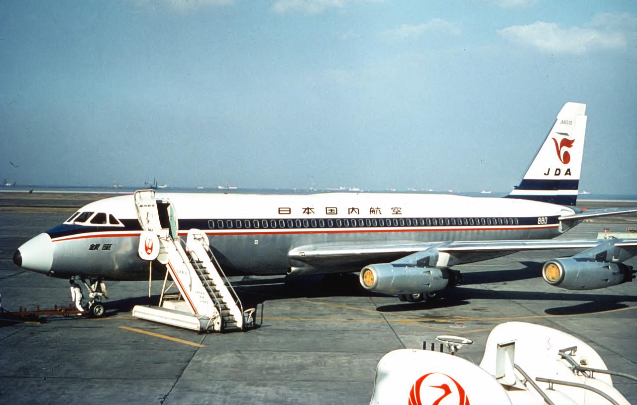 コンベア880 JA8030 : 悲運な飛...